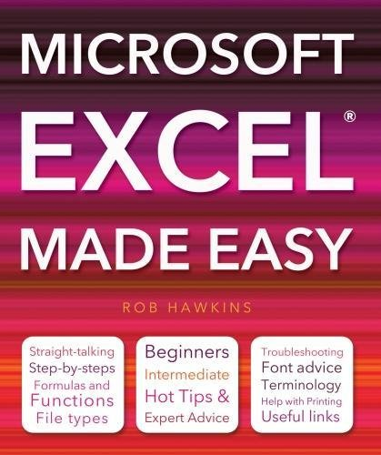 9781847869845: Microsoft Excel Made Easy (Computing Made Easy)