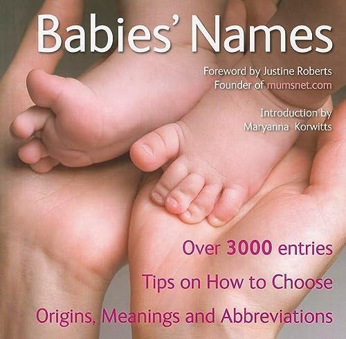 9781847869869: Babies' Names