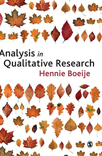 9781847870063: Analysis in Qualitative Research