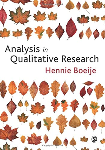9781847870070: Analysis in Qualitative Research