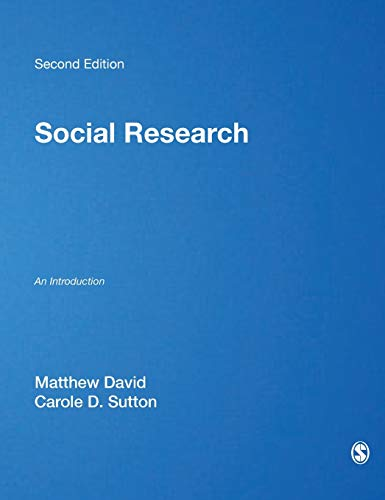 9781847870124: Social Research: An Introduction