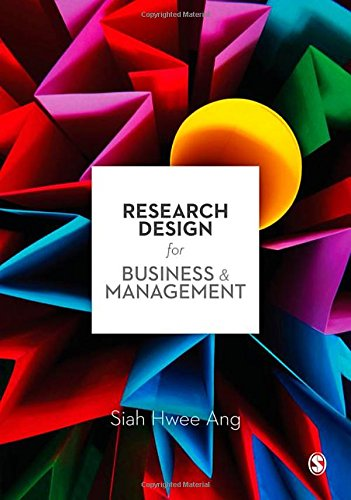 9781847870254: Research Design for Business & Management