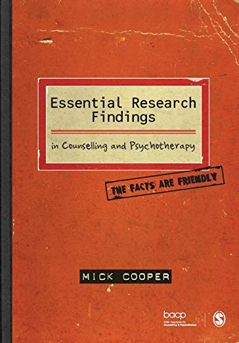 9781847870438: Essential Research Findings in Counselling and Psychotherapy: The Facts are Friendly