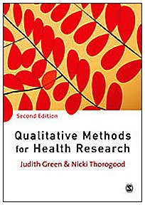 9781847870735: Qualitative Methods for Health Research (Introducing Qualitative Methods series)
