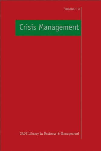 9781847870889: Crisis Management (SAGE Library in Business and Management)