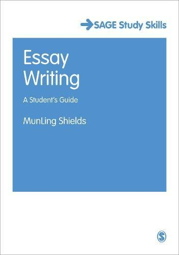 9781847870896: Essay Writing: A Student′s Guide (SAGE Study Skills Series)