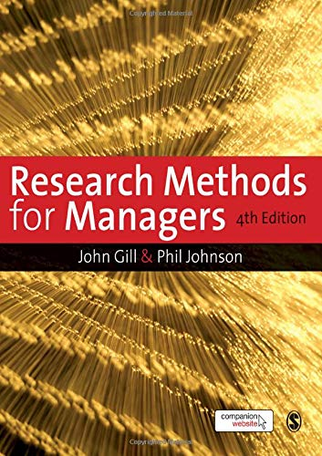 9781847870933: Research Methods for Managers