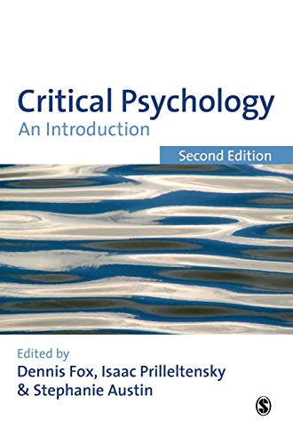 9781847871725: Critical Psychology: An Introduction