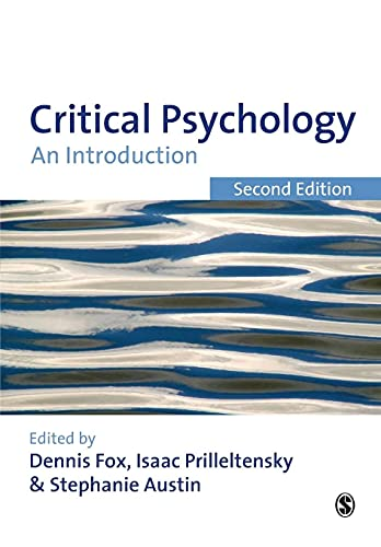 9781847871732: Critical Psychology: An Introduction