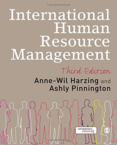 International Human Resource Management: Editor-Anne-Wil K Harzing;