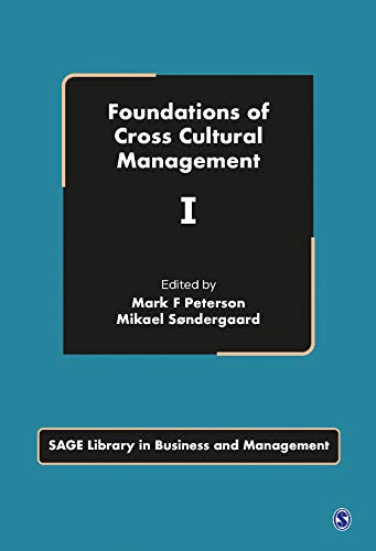 9781847873484: Foundations of Cross Cultural Management (SAGE Library in Business and Management)