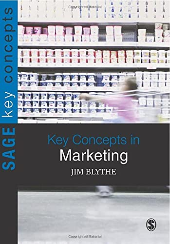9781847874993: Key Concepts in Marketing (SAGE Key Concepts series)
