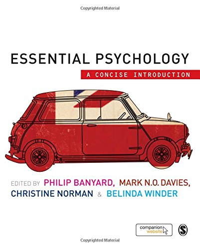Essential Psychology: A Concise Introduction Banyard, Philip;