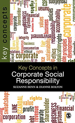 9781847879288: Key Concepts in Corporate Social Responsibility (SAGE Key Concepts series)