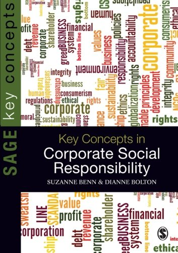 9781847879295: Key Concepts in Corporate Social Responsibility (SAGE Key Concepts series)