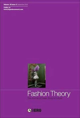 Fashion Theory Volume 12 Issue 3: The Journal of Dress, Body and Culture