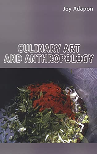9781847882134: Culinary Art and Anthropology