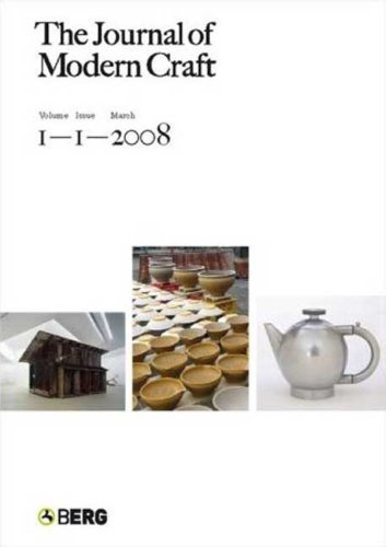 9781847882196: The Journal of Modern Craft Volume 1 Issue 2