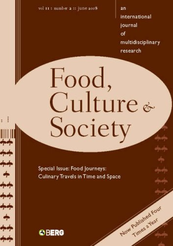 9781847882332: Food, Culture and Society: volume 11 issue 2: An International Journal of Multidisciplinary Research