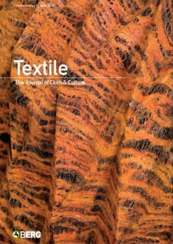 Textile Volume 6 Issue 3: The Journal: Harper, Catherine; Ross,