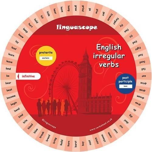 9781847951632: English Verb Wheel (Irregular Verbs)