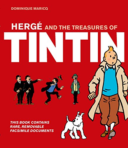 9781847960702: Herge and the Treasures of Tintin