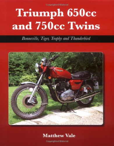 Triumph 650cc and 750cc Twins: Bonneville, Tiger, Trophy and Thunderbird.