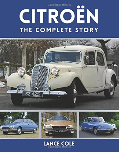 Citroen: The Complete Story.