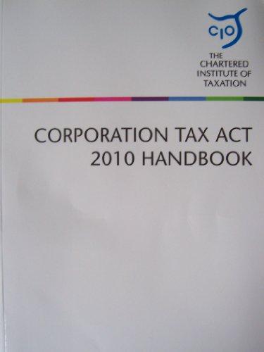 9781847982988: Corporation Tax Act 2010 Handbook