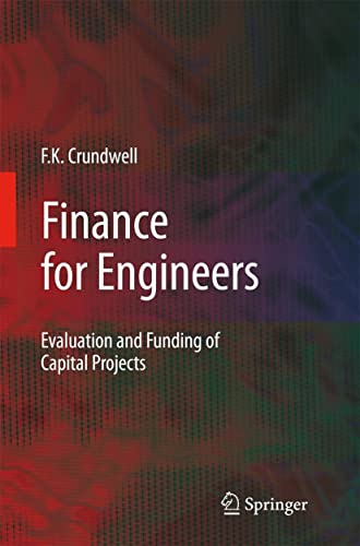 9781848000322: Finance for Engineers: Evaluation and Funding of Capital Projects