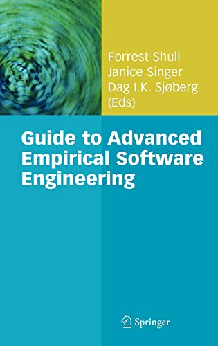 9781848000438: Guide to Advanced Empirical Software Engineering