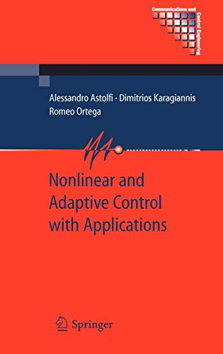 9781848000650: Nonlinear and Adaptive Control with Applications (Communications and Control Engineering)