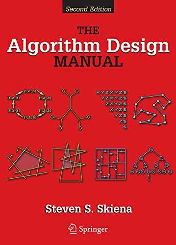 9781848000704: Algorithm Design Manual