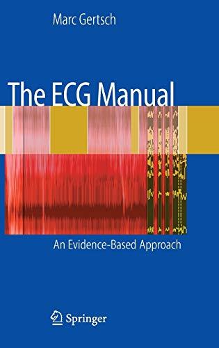 9781848001701: The ECG Manual: An Evidence-Based Approach
