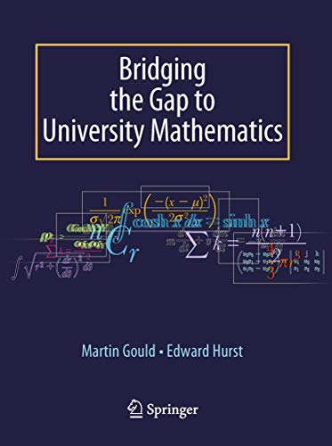 9781848002890: Bridging the Gap to University Mathematics