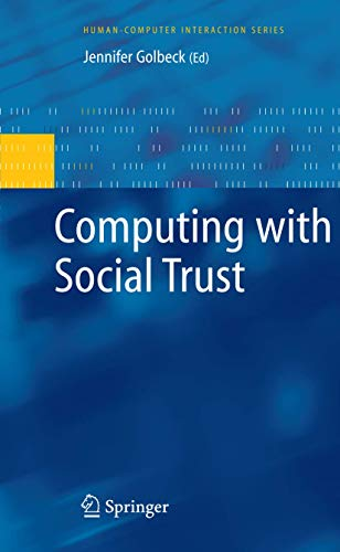 9781848003552: Computing with Social Trust (Human–Computer Interaction Series)