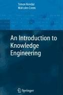 9781848005396: An Introduction to Knowledge Engineering