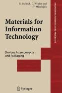 9781848008441: Materials for Information Technology