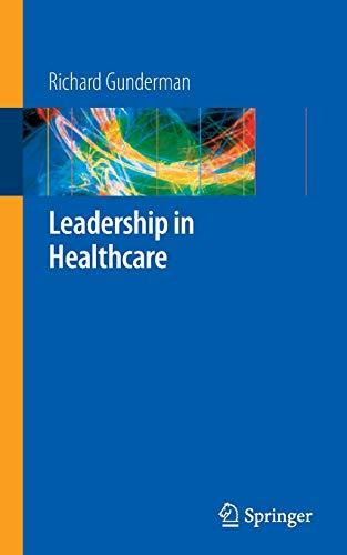 9781848009424: Leadership in Healthcare