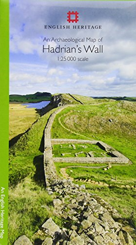 An Archaeological Map of Hadrian's Wall 1: 25 000 Scale