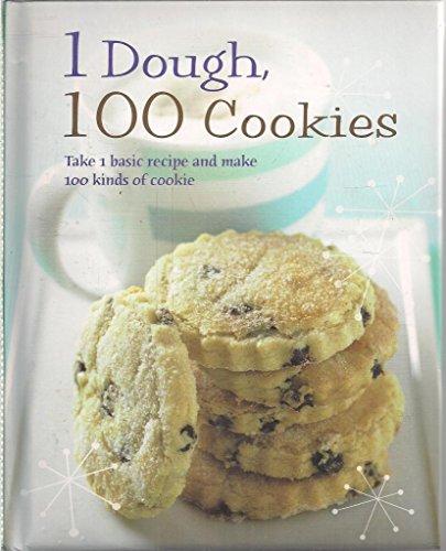 9781848050150: 1 Dough - 100 Cookies