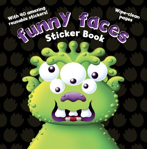 Monsters Funny Faces Stickers (Funny Face Stickers)