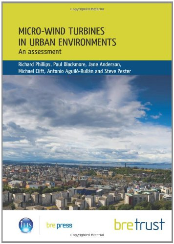 9781848060210: Micro-wind Turbines in Urban Environments: An Assessment (FB 17)