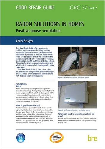 9781848063013: Radon Solutions for Homes: Positive House Ventilation Pt. 2