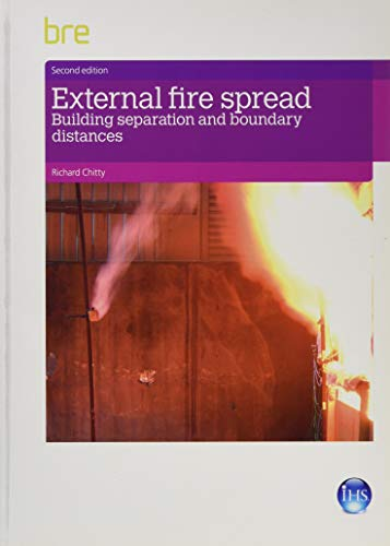 9781848063198: External Fire Spread: Building Separation and Boundary Distances