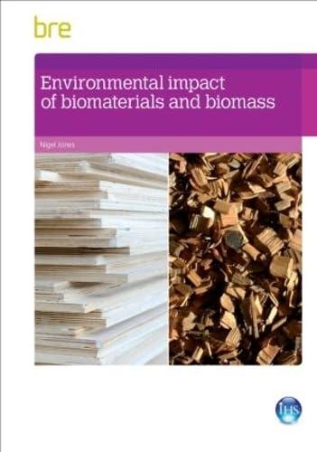 Environmental Impact of Biomaterials and Biomass: Jones, Nigel