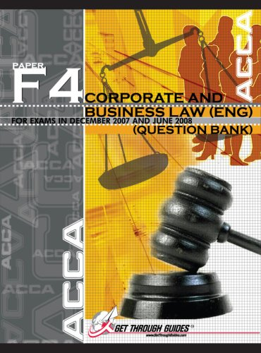 9781848080140: ACCA F4 Question Bank - Corporate and Business Law