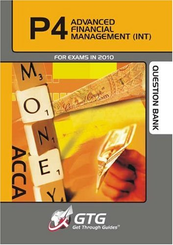 9781848081468: ACCA - P4 Advanced Financial Management (INT): Question Bank