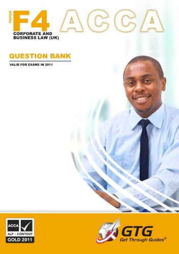 9781848082403: ACCA - F4 Corporate and Business Law (UK): ACCA-F4-QB: Question Bank