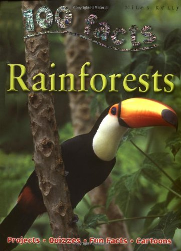 9781848101623: 100 Facts on Rainforests